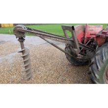Massey Ferguson post hole borer